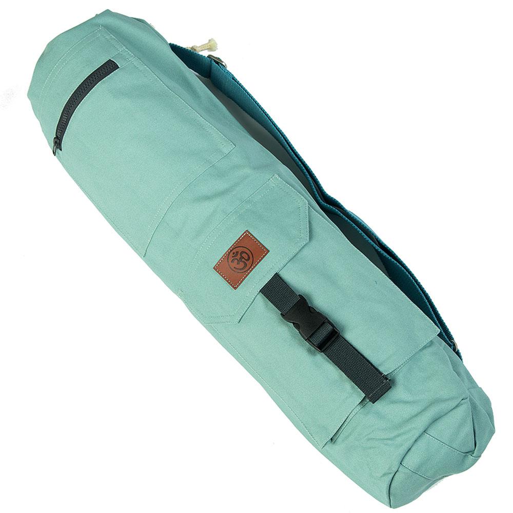 Сумка хлопковая для коврика Сутра DY (0.35 кг, 70 см, мятный, 18 см) сумка хлопковая для коврика сутра dy 0 35 кг 70 см синий 18 см