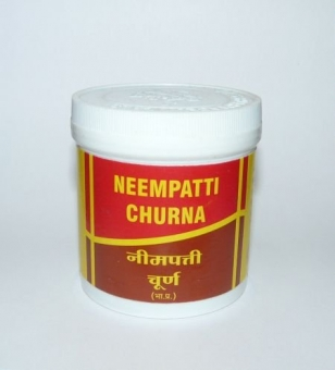 Ним в порошке Neem Churna Vyas (100 г) цена