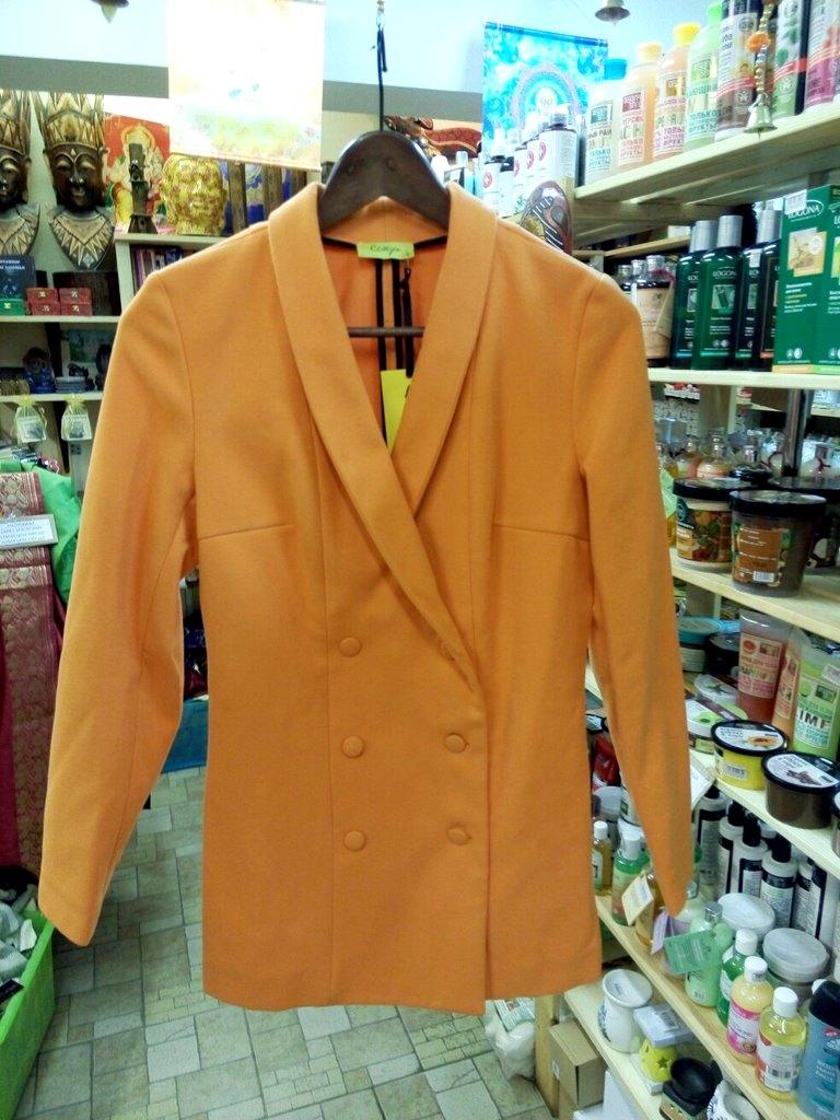 Пиджак-Пальто Double Coat из органического хлопка Chillife.