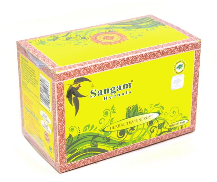 Чай травяной Бодрость Sangam herbals (40 г)