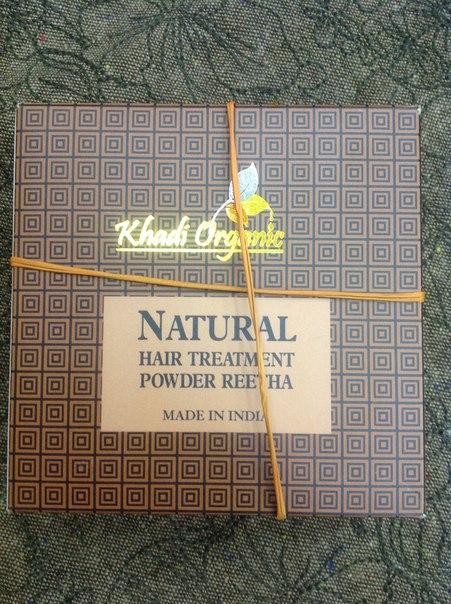 Маска для волос ритха в порошке Khadi Organic (150 г) цена в Москве и Питере