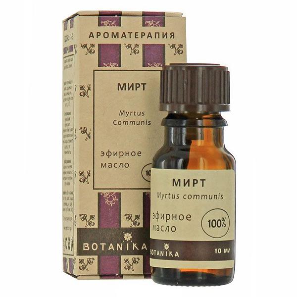 Мирт 10мл эфирное масло Ботаника (10 мл)
