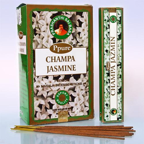Благовония жасмин jasmine Ppure (15 г) благовония лаванда lavender ppure