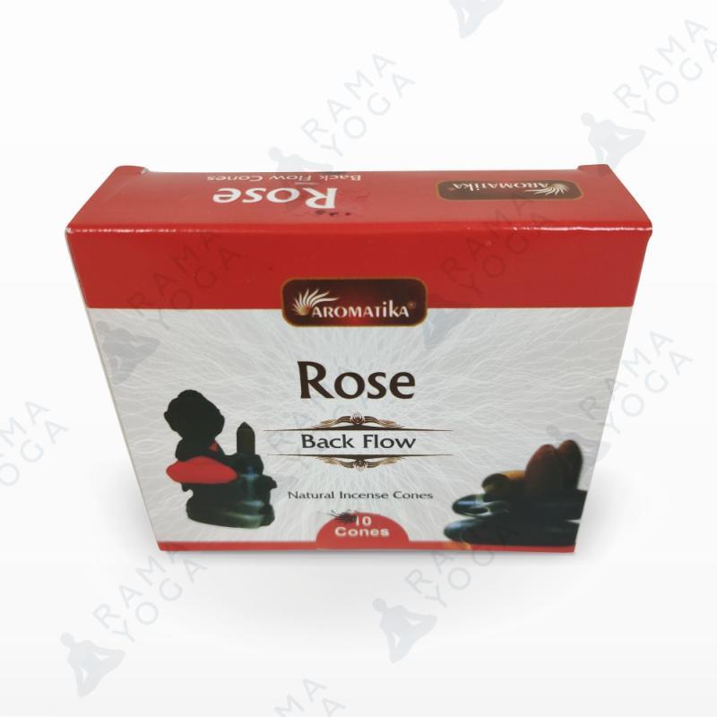Благовония пуля стелющийся дым Роза Aromatika (10 шт )