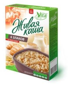 Живая каша 6 злаков Vita (0,3 кг)