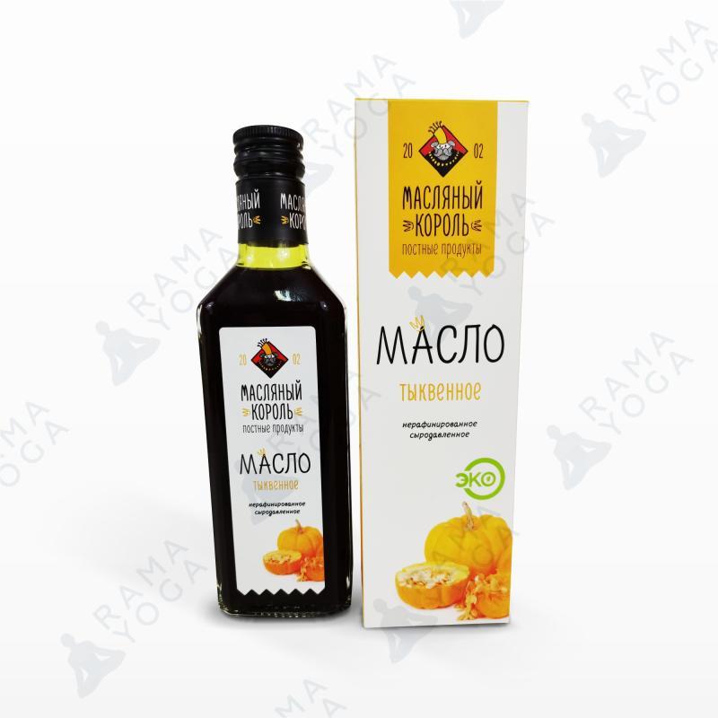 Тыквенное масло нерафинированное сыродавленное Масляный король (250 мл)