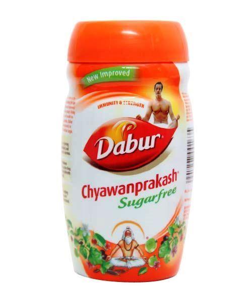Чаванпраш Дабур без сахара для диабетиков Dabur аюрведическое средство от простуды и ангины dabur madhuvaani honitus 150 г