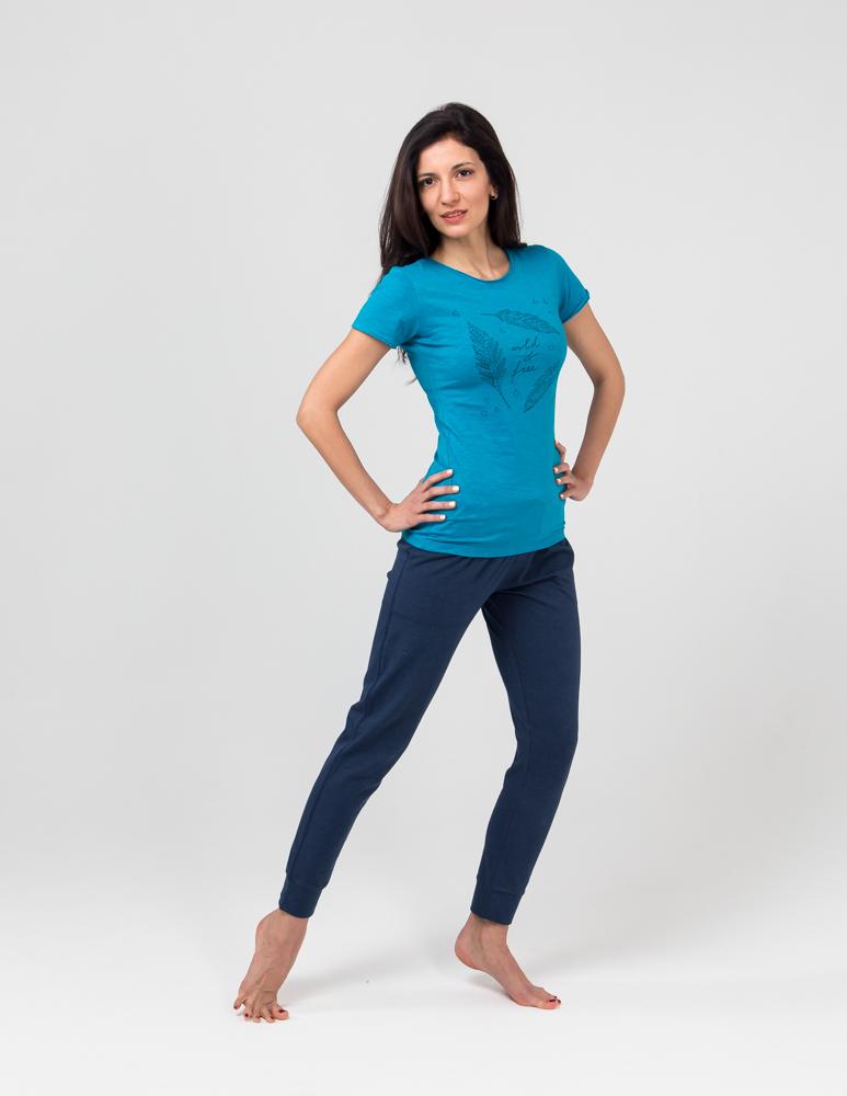 Штаны женские Джаз YogaDress (0,3 кг, S (44), синий) штаны женские never mind yogadress yogadress синий 0 3 кг 42