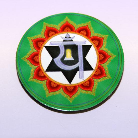 Магнит анахата-чакра 4,3 см (SCV023 0,05 кг)