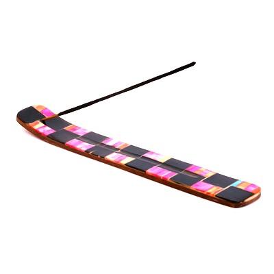 Подставка под благовония лыжа дерево и кость (WIH21) подставка под благовония ручная роспись 10 6см pd051 01