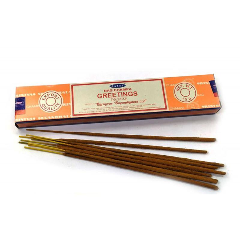 Благовония Приветствие Сатья серия incense / Greetings Satya (15 г)