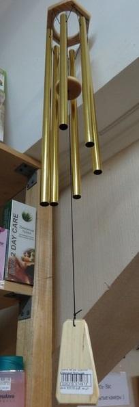 Музыка ветра трубочки Классика золото малый игровой элемент музыка ветра hercules 4306
