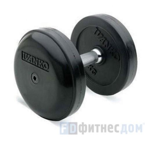 Haбор фиксированных гантелей IVANKO RUB-EPR/105-140 (41-55 кг), 8 пар