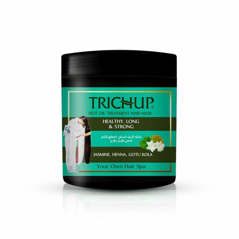 Маска для волос Длинные и сильные волосы Trichup Vasu (500 мл)
