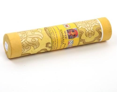 Благовония бутанские дзамбала zambala в тубусе 21шт (желтый) благовония бутанские дзамбала zambala в тубусе 21шт