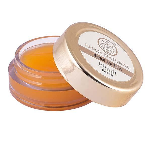 купить Бальзам для губ персик Khadi (10 гр) дешево