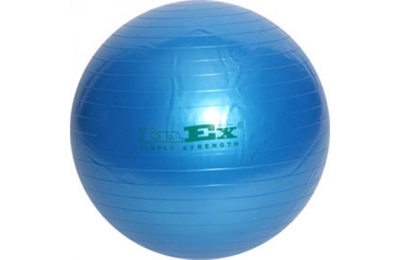 Гимнастический мяч Swiss Ball INEX (75 см, синий) цена