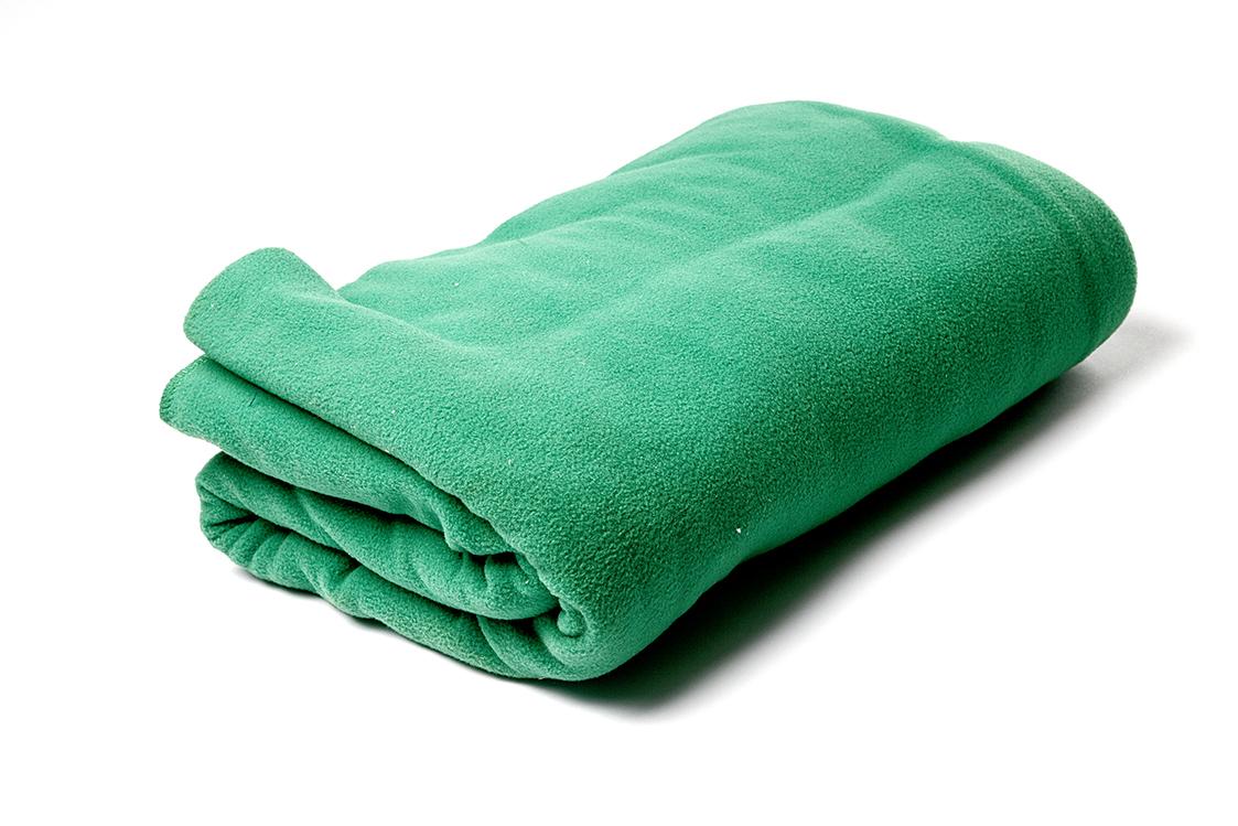 Плед Сурья для шавасаны, нидры и релаксации (200 см, зеленый, 150см)