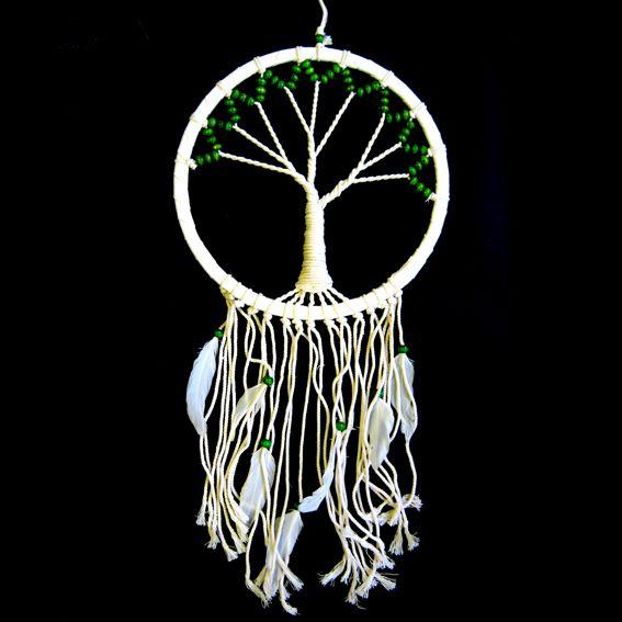 Ловец снов Дерево Жизни белое 66 см (IN0305-10 0.1 кг)