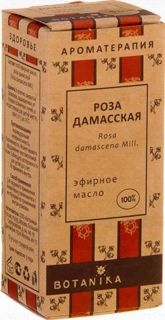 Роза дамасская 10 мл эфирное масло Ботаника