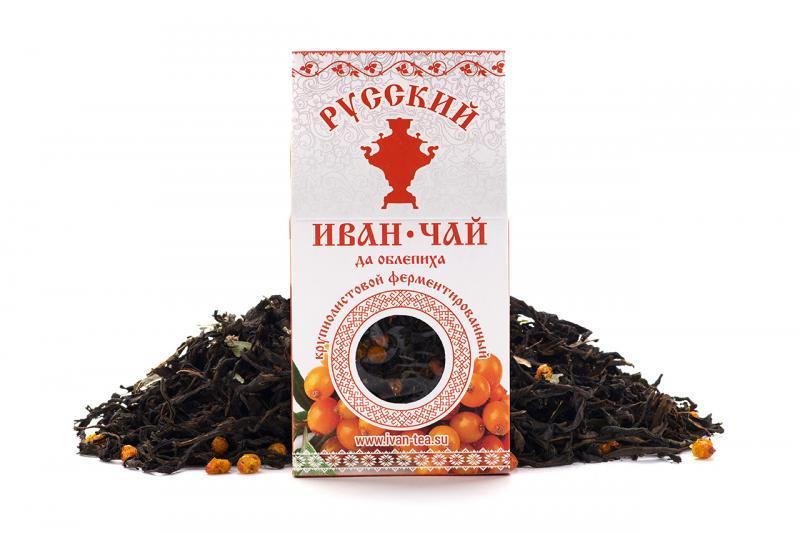 купить Иван-чай с облепихой Русский чай (75 г) онлайн