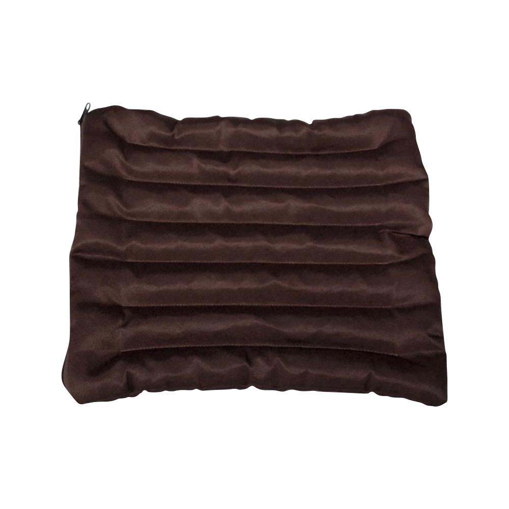 Подушка для стула (3 см, 35см, коричневый, 45 см)