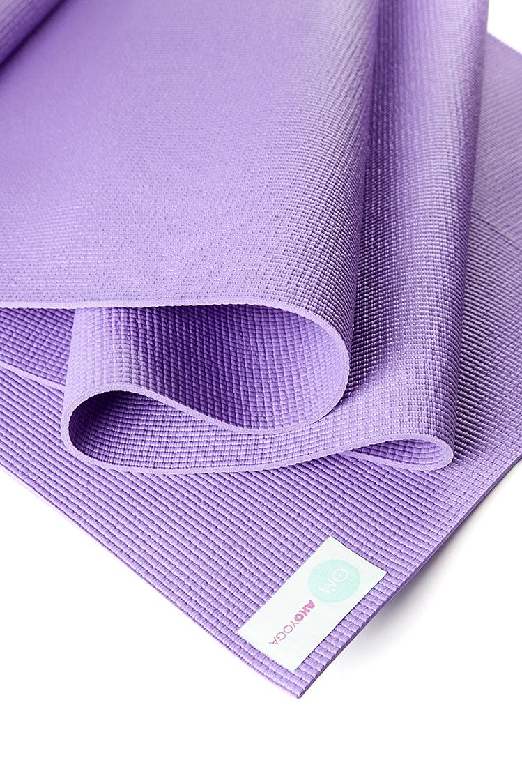 Коврик для йоги Асана Стандарт 4мм (1 кг, 185 см, 4 мм, фиолетовый, 60см) коврик для йоги асана стандарт 4мм 1 кг 185 см 4 мм фиолетовый 60см