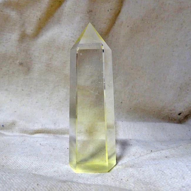 Цитрин цилиндр минеральный гармонизирующий (кристалл)