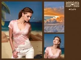 Футболка женская Space Wear Collection 029 хлопок/полиэстер (Россия) clever wear сорочка женская 263919п