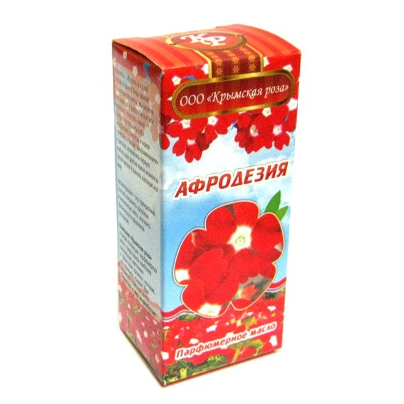 Афродезия масло парфюмерное 10мл Крымская Роза (10 мл) шоколад парфюмерное масло 10 мл