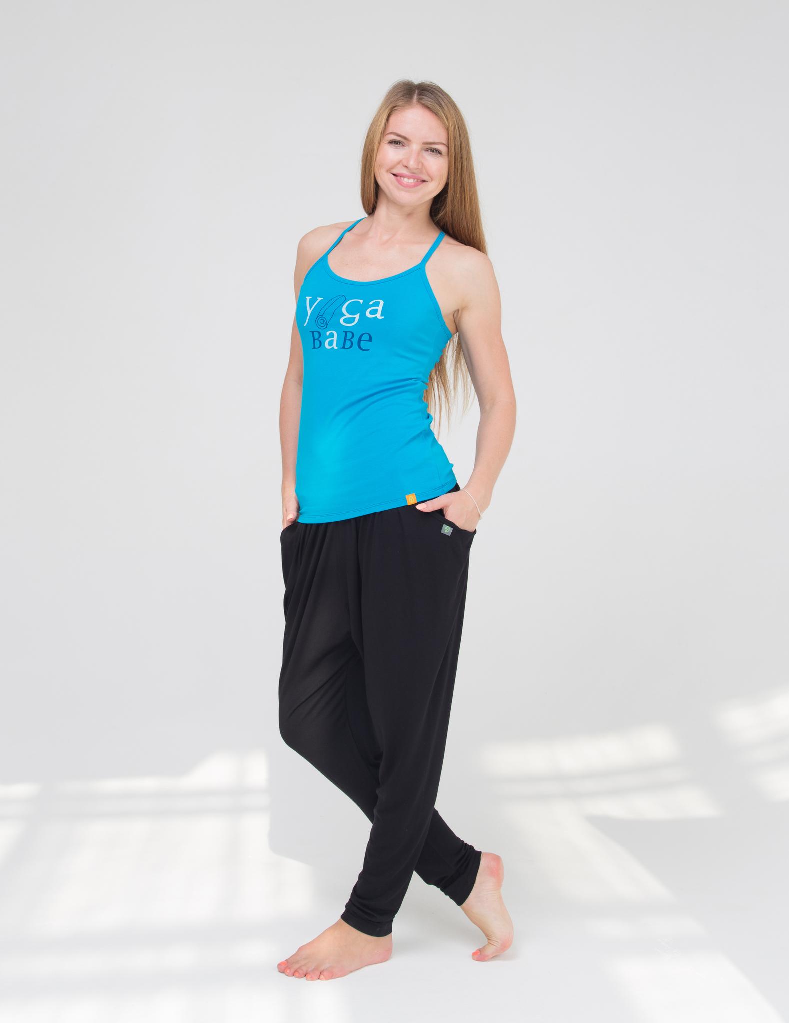 Штаны женские Never Mind YogaDress (0,3 кг, M(46), черный)