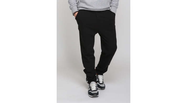 Брюки мужские зауженные Black, pure collection, organic panda (S (46)) брюки мужские с карманами yakama fresh collection organic panda