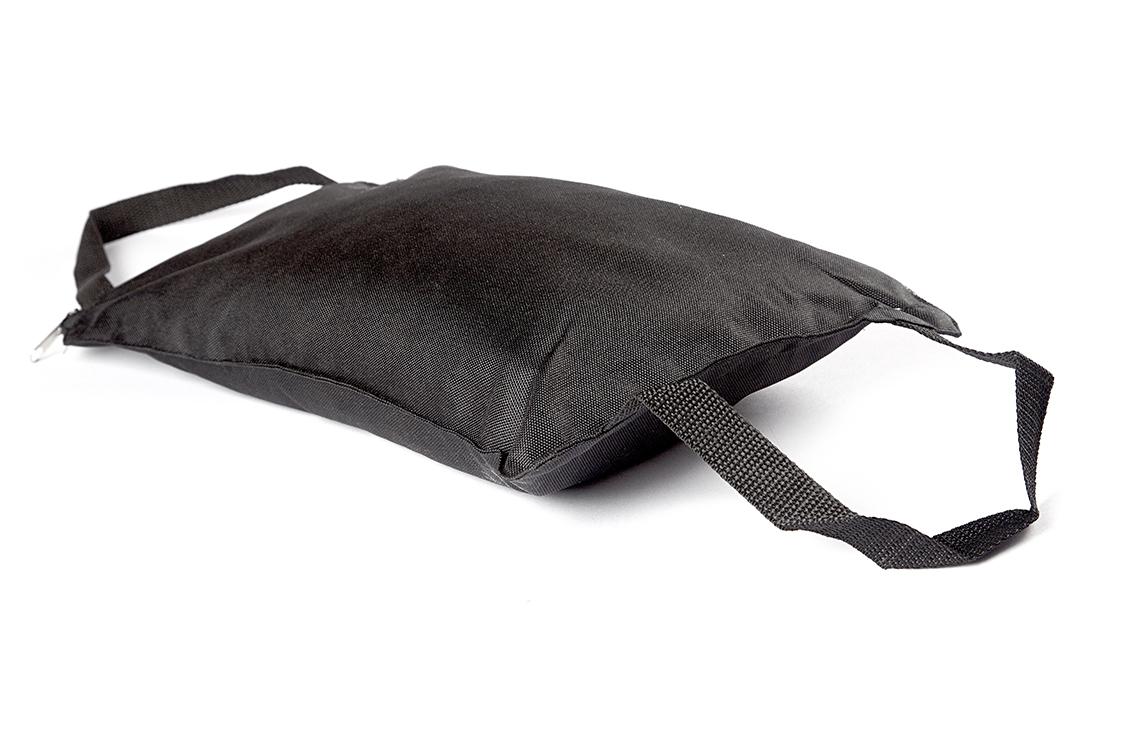 Мешок с песком Люкс с ручкой 5 кг Рамайога (5 кг, черный) бетонконтакт с кварцевым песком axton 1 5 кг