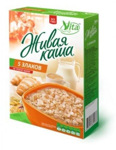 Живая каша 5 злаков Vita (0,3 кг)