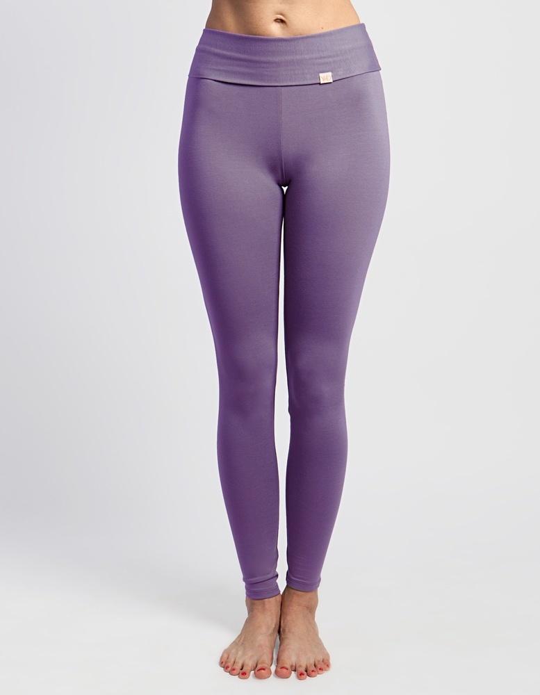 Лосины женские длинные YogaDress (0,3 кг, S (44), сиреневый / светло-фиолетовый)