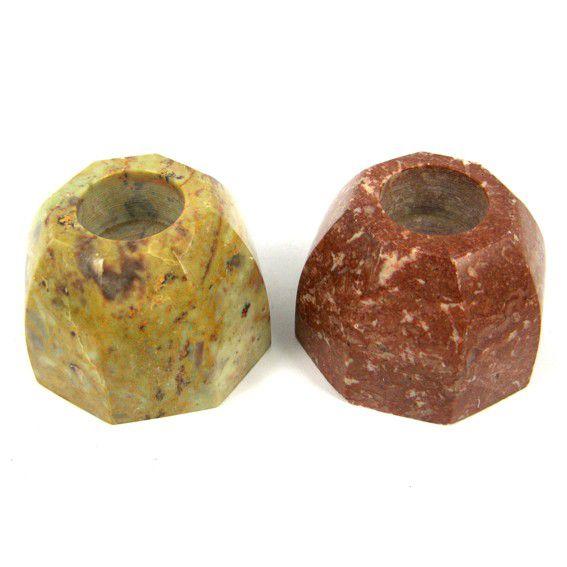Подставка под благовония из камня круглая 5 см (0,05 кг) подставка под благовония слоник с каменной крошкой 2 5 см