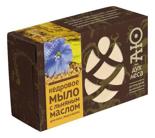 Фото - Мыло кусковое кедровое с льняным маслом Аю-дух леса (115 г) мыло кусковое кедровое с льняным маслом аю дух леса 115 г