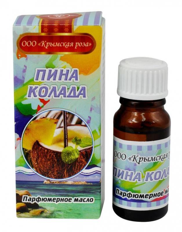 Пина колада масло парфюмерное 10мл Крымская Роза (10 мл) цены онлайн