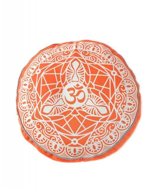 Подушка для медитации Dream Om Orange (2.5 кг, оранжевый) подушка для медитации simple 2 5 кг зеленый