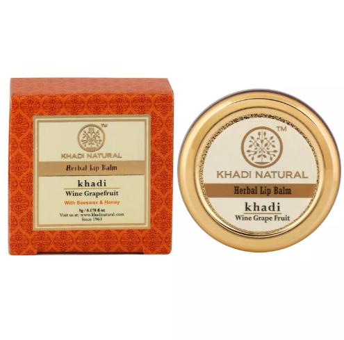 купить Бальзам для губ грейпфрут wine grapefruit Khadi (10 гр) дешево