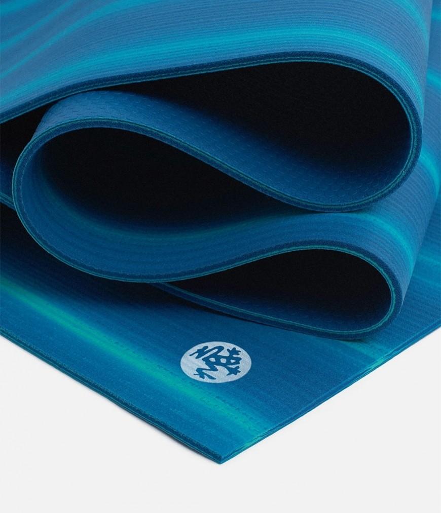 Коврик для йоги Manduka The PRO Mat 6мм (3.6 кг, 180 см, 6 мм, синий, 66см (Float)) коврик для йоги manduka the pro mat 6мм 3 6 кг 180 см 6 мм бирюзовый 66см harbour