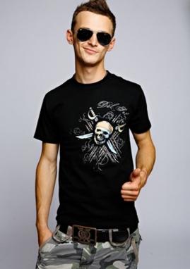 Футболка мужская (CHURINGA) Pirate & Swords