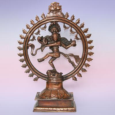 Статуя Шива Натарадж из силумина 47см (2 кг)