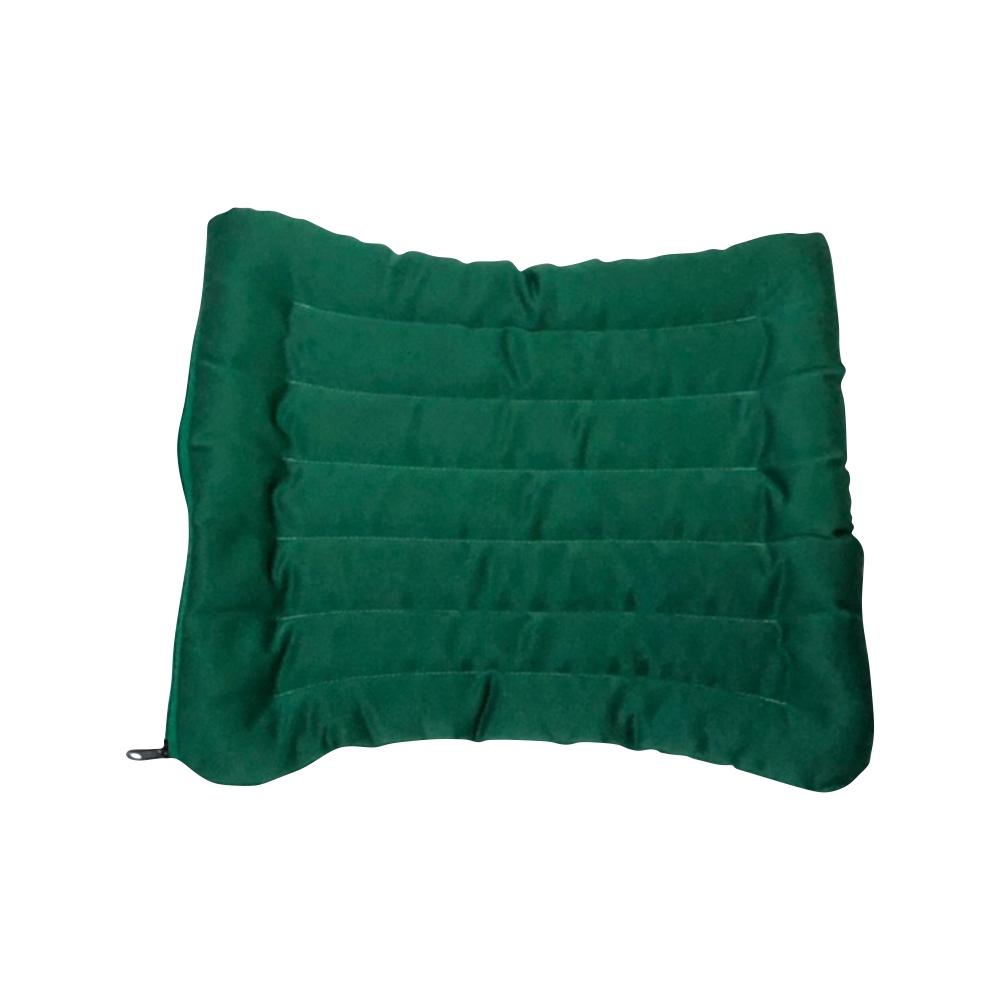 Подушка для стула (3 см, 40 см, зеленый, 40 см) подушка антистресс для шеи турист цвет зеленый 30 х 27 см