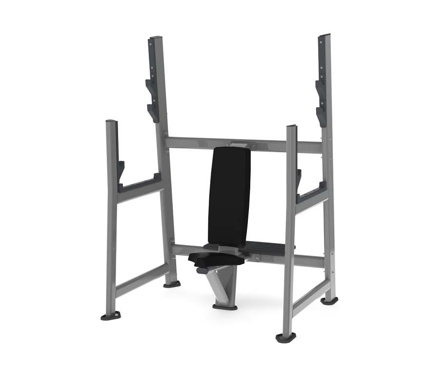 Олимпийская скамья для армейского жима скамья для жима горизонтальная spirit fitness afb102