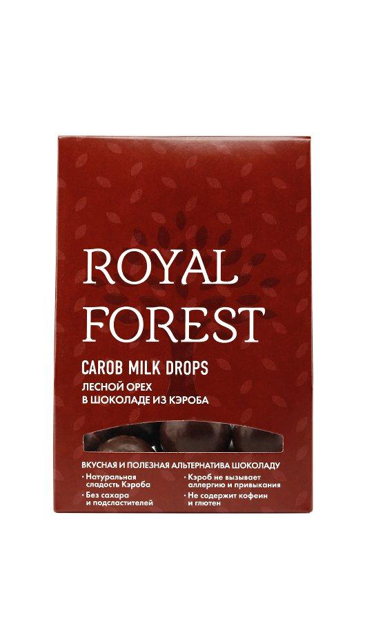 Фундук в шоколаде Royal Forest (75 г) кэроб обжаренный royal forest 200 г
