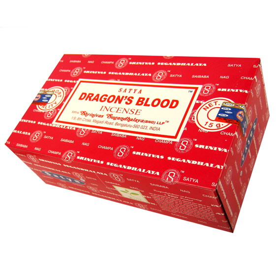 Благовоние Dragon Blood Satya, серия incense (15 г)