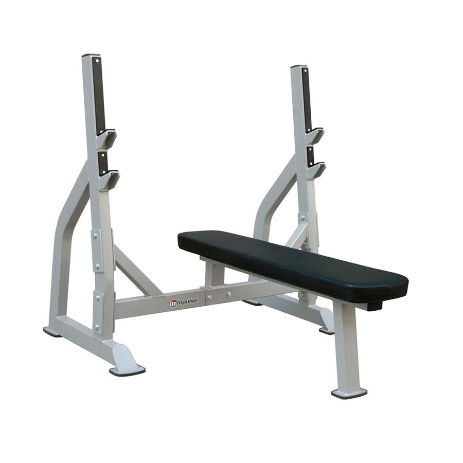 Олимпийская скамья для жима лежа со стойками скамья для жима горизонтальная spirit fitness afb102