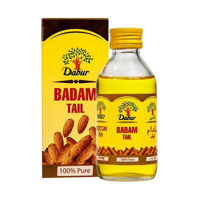 Миндальное масло badam tail Dabur (100 мл) масло косметическое мирролла миндальное 100 мл