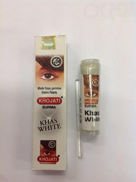 Сурьма порошковая белая Khojati (2 г) жирное масло 100